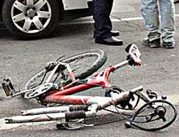 Biciclist Accidentat